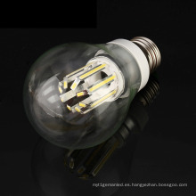 Luz de bulbo del filamento del alto lumen E27 B22 6W / 8W del pulpo LED