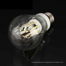 Luz alta do bulbo do diodo emissor de luz do filamento do polvo E27 B22 6W / 8W do lúmen