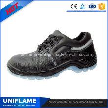 Zapatos de seguridad de acero de la suela de TPU Ufa075