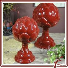 ceramic red lotus light DD141-11.5R&9R