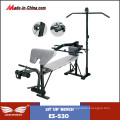 Heavy Duty Home Gym Deluxe Weight Bench for Adults (ES-530)