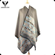 2016 Latest Winter Big Jacquard Fashion Shawl