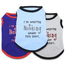 Vêtements pour animaux domestiques T-shirts drôles pour chiens