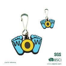 Benutzerdefinierte Soft PVC Keychain / Gummi Schlüsselanhänger / Kunststoff Schlüsselanhänger