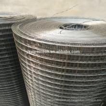 2015 ¡Venta caliente! 304 316 3/4 pulgadas de acero inoxidable soldada malla de alambre, mejor precio soldado malla de malla de rollo