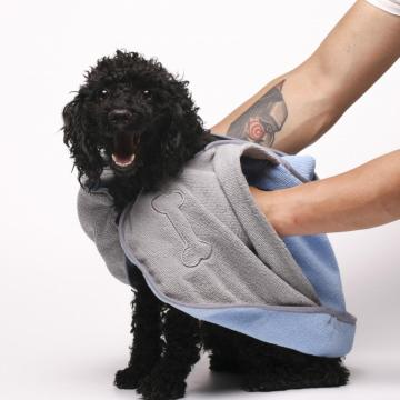 Water Aborsent Pets Towel With  Embroidary