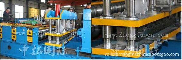 glazed tile roll forming machiine