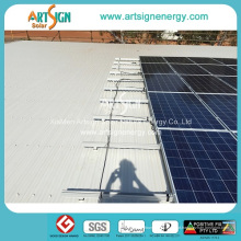 Suporte de alumínio solar anodizado do quadro de painel dos trilhos do suporte de montagem