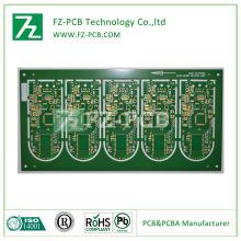 Tembaga papan PCB Fr4 PCB (LED, komputer, Mesin)