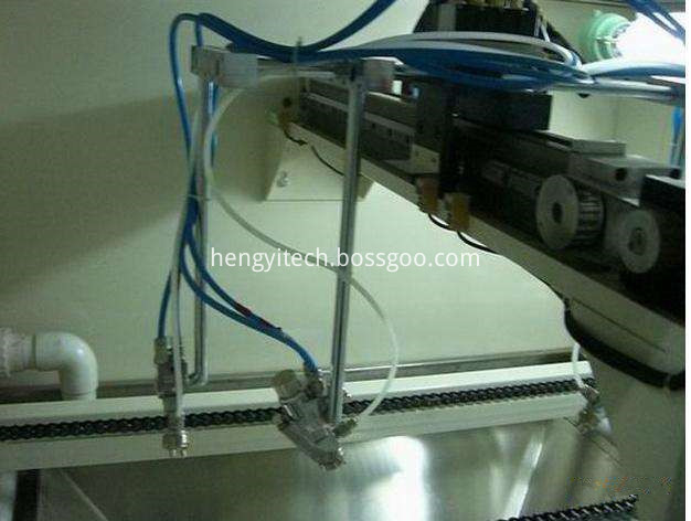 Reciprocating electric paint sprayer