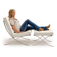 Leder Metall Sofa Stuhl für Wohnhaus