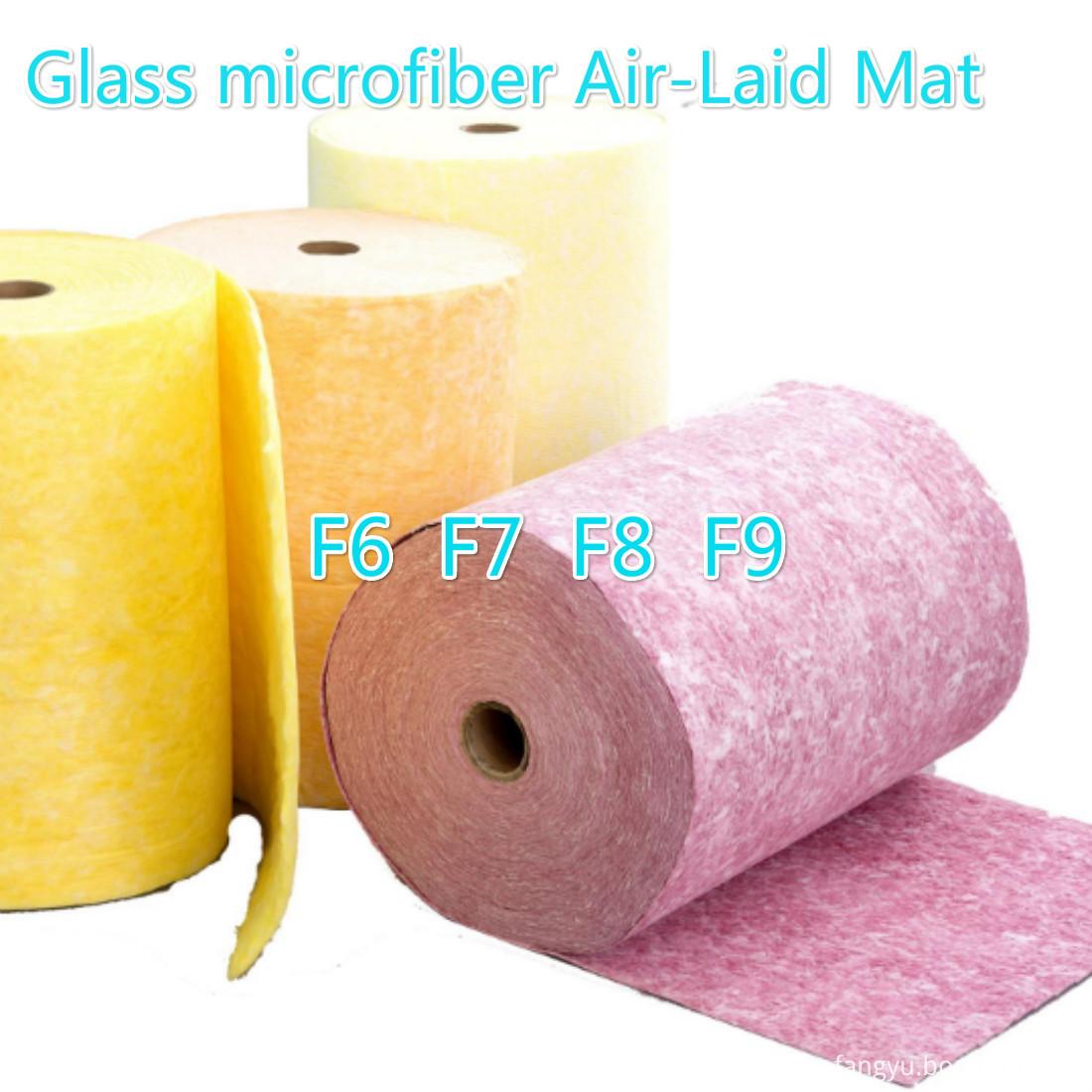 Glass microfiber Air-Laid Mat