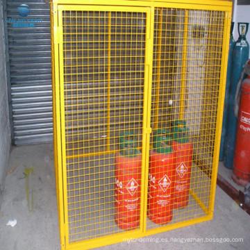 Jaula de gas de almacenamiento de jaula de gas de 1.8 x 1.8 x 1.8 jaula de seguridad