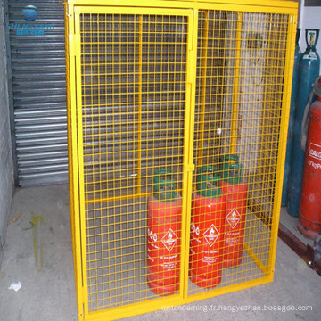 1.8 x 1.8 x 1.8 cage à gaz cage de sécurité stockage bouteille porte-bouteille