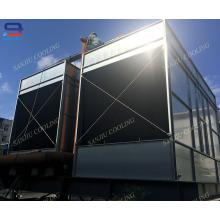 Torre de enfriamiento abierta de acero de alta eficiencia 231Ton para enfriamiento de agua de proceso