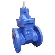Awwa C515/509 Flanged Resilient Gate Valve with Bare Shaft Operator