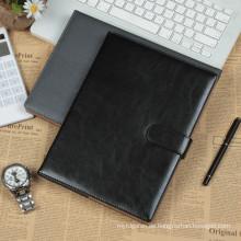 Schöne A5 Größe PU Bedeckung Material Günstige Drucktagebuch