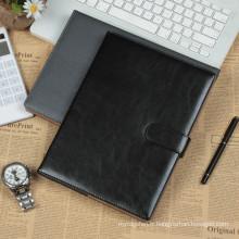 Belle taille A5 Matériau de revêtement PU Journal d'impression bon marché
