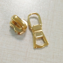 Chapa de metal de moda Gold Zip Puller Wholesale