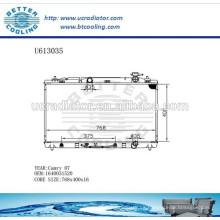 Radiador De Aluminio Para TOYOTA 07 CAMRY 1640031520 Fabricante y Venta Directa