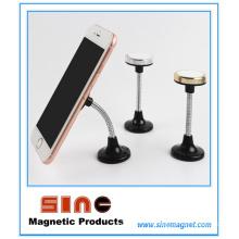 Innovación Soporte magnético para coche para teléfono móvil con rotación de 360 grados