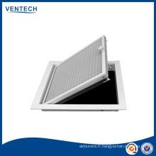système de CVC plafond alvéolée grilles de chauffage