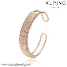 51817 Xuping aimant large bracelet en or 18 carats saoudite arabie bijoux réglable bracelet manchette