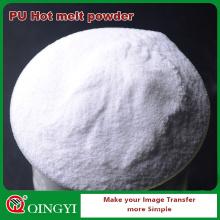 Adhesivo en polvo blanco QingYi para tela
