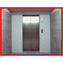 Bouble Entrance Ascenseur d'ascenseur à cargaison avec fer à repasser