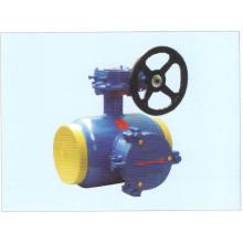 Válvula de esfera de filtro totalmente soldado