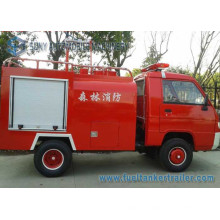 Foton Mini 2axles 1m3water Tank Fire Fighting Truck