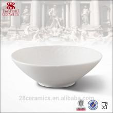 En gros articles promotionnels porcelaine vaisselle, bol de céréales en céramique de Guangzhou
