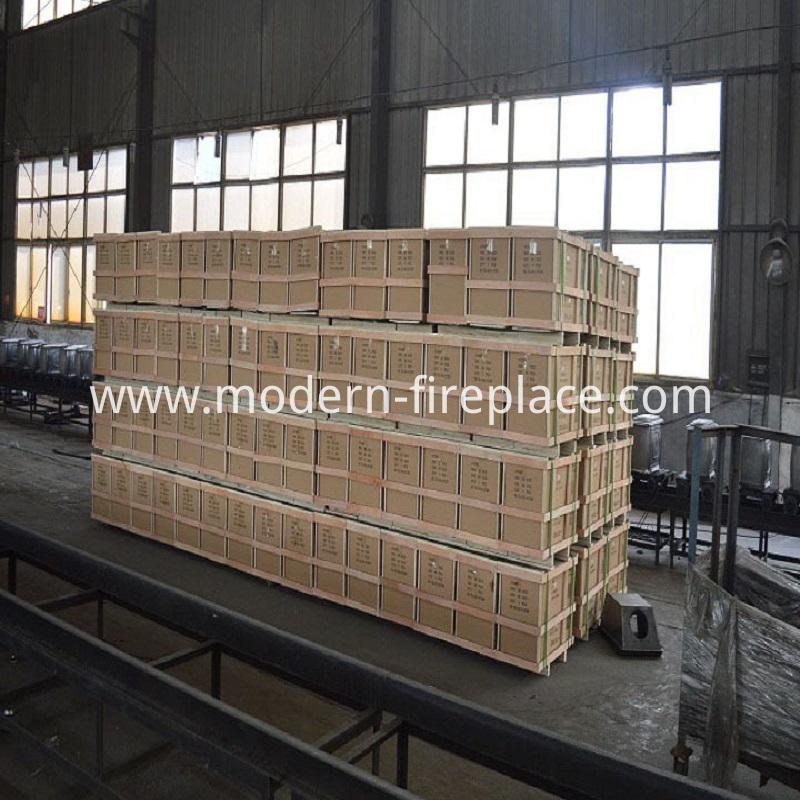 Wood Burner Insert Factory Packaging