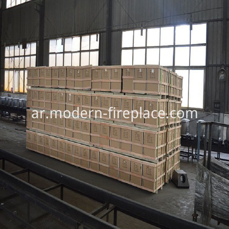 Wood Burner Insert Factory Packaging
