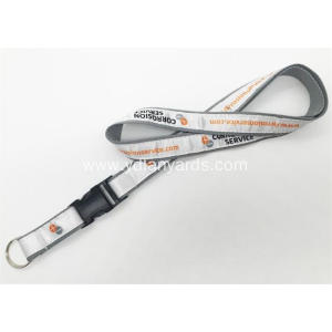 Personalized Woven Lanyard With Jacquard Logo