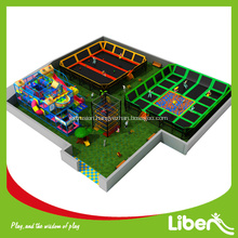 Professional Customized Large Indoor Kids Trampoline Games