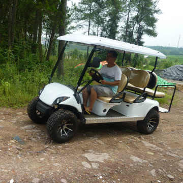 6 seats best electric yamaha golf carts with electric power