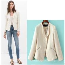 High Quality 2015 Elegant Winter Blazer for Office Women