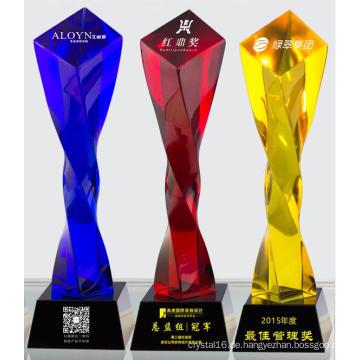 2016 wunderschöne Crystal Award und Crystal Trophy