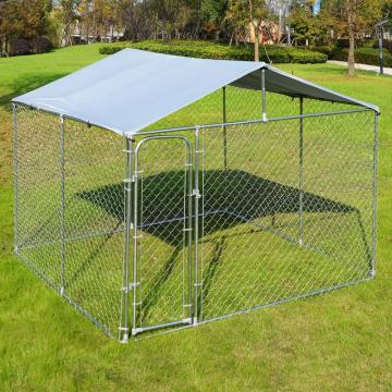 Rantaian Luar Link Wire Mesh Dog Run