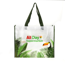 Custom Printing Logo Label China Polypropylene Shopping Laminated PP Woven Bag
