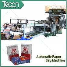 Bolsa de papel automática de ahorro de energía que hace la máquina con la impresión de Flexo