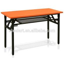 Table d'étude pliante et chaise pour l'utilisation des étudiants adultes et universitaires