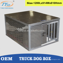 aluminum single hunting dog crates for trucks