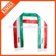 Мужская 100% полиэстер пользовательских оптовая шарф