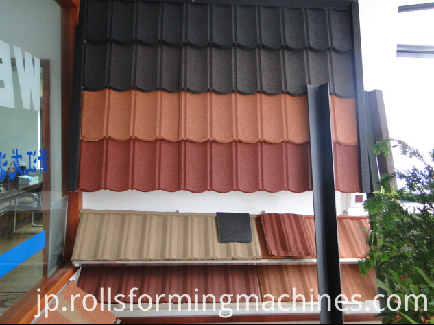 Villa Used Roof Tile