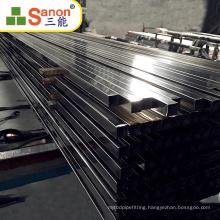Factory Direct Metal Building Steel Pipe Inox outdoor Stair Railing