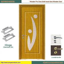 Porta de PVC MDF porta porta porta de madeira de madeira porta de vidro