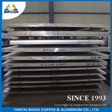 Aluminium Korrosionsbeständige Platte für Werft