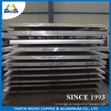 Placa Resistente à Corrosão de Alumínio para Estaleiro